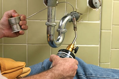Jarod is one of our Newcastle plumbing pros and he is fixing a bathroom sink leak