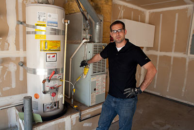 Frank is one of our White Center plumbing pros, and he has just finished installing a new water heater